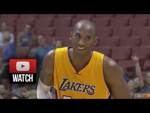 Kobe Bryant Full Highlights Vs Suns (2014.10.21) - 27 Pts, 4th Qtr Cheese! video