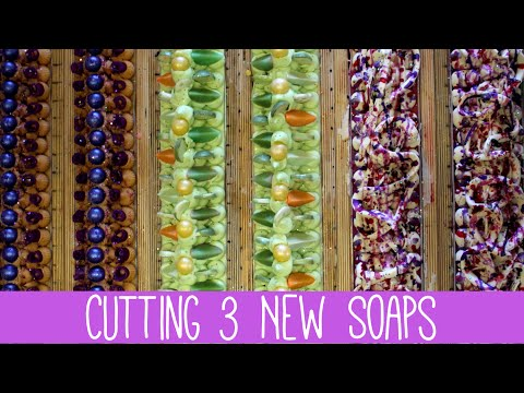 Cutting 3 New Soaps | Royalty Soaps