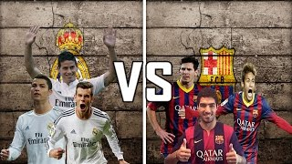 Ronaldo,Rodriguez,Bale VS Messi,Suarez,Neymar || Who Has the Best trio ? || HD ||