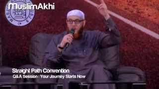 Q&A Session for Your Journey Starts Now - Mufti Menk - Straight Path Convention - Malaysia 2015
