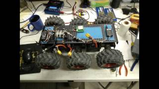 Wild Thumper Rover with Apm 2.6 GPS AutoPilot