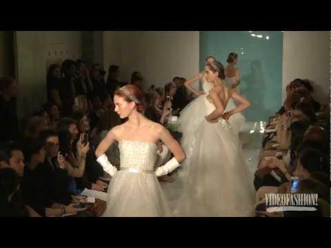 Reem Acra Bridal Spring 2013 - Videofashion