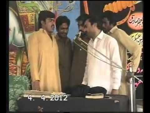 Zakir Qazi Waseem Abbas new Qasida 2012  Dil Bekrar Hai  video
