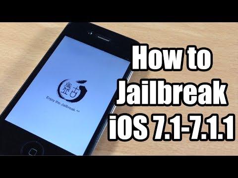 How To Jailbreak Ios 7.1 - 7.1.2 Untethered Using Pangu On Windows video