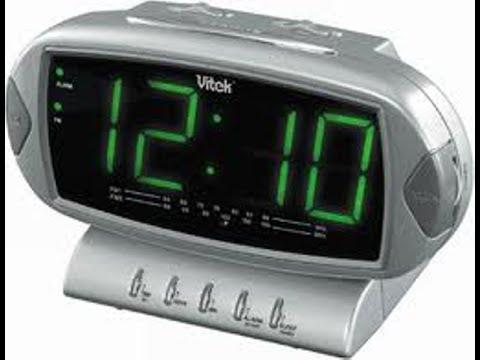 Ремонт. Радио часы Vitek