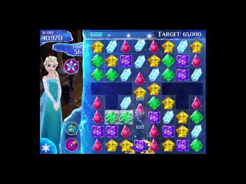 Disney Frozen Free Fall - Level 48 [Gameplay Walkthrough]