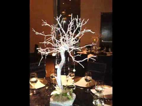 Adornos de boda para mesa