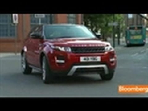 Tata Aims for Record Sales With Range Rover Evoque