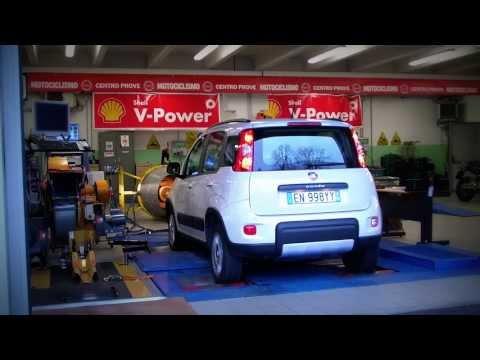 FIAT PANDA 4X4 TwinAir Turbo 2013 Dyno Test Raw Footage