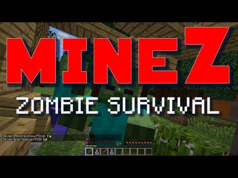 "Minecraft MineZ - E01 ""Kill Paul!"" (Zombie Survival Server)"