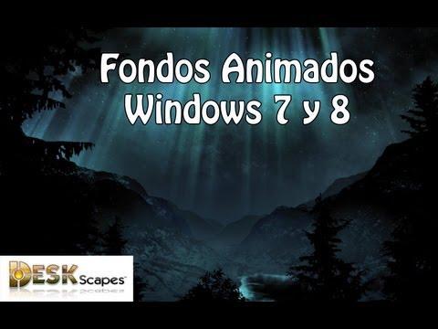 Fondos de escritorio animados para Windows 8.1/8/7