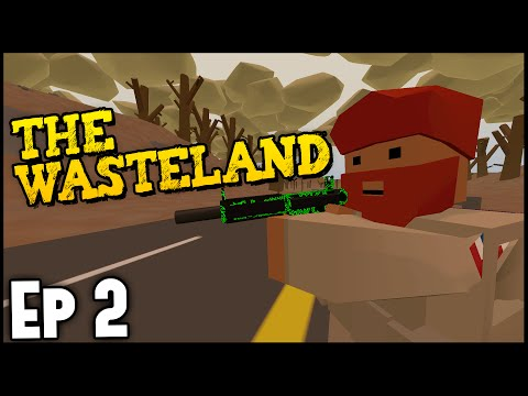 Unturned ➤ Fallout Wasteland Survival Ep. 2 [Unturned Gameplay]