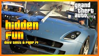 Hidden Fun - DMV Test & Prop 14 (GTA 5 PC Online)