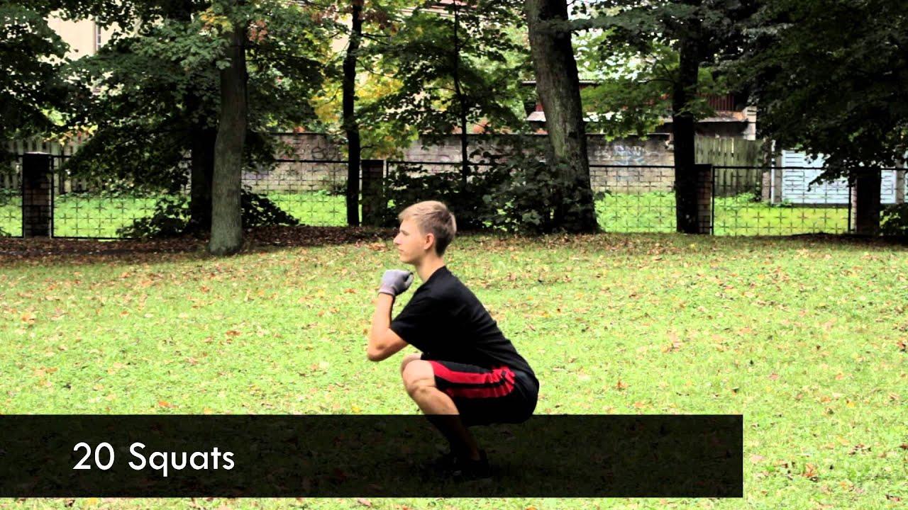 Full Body Workout Routine For Beginners - Calisthenics [Beginners ...