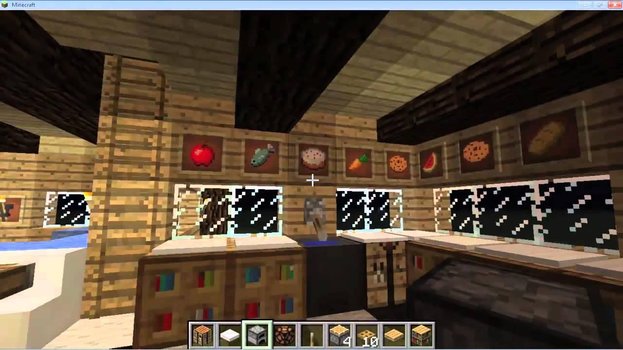 Minecraft como decorar tu casa caba a youtube for Todo casa decoracion