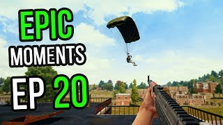 PUBG: Epic & Lucky Moments Ep. 20