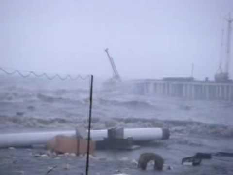 Разрушение олимпийского порта Сочи Часть2.