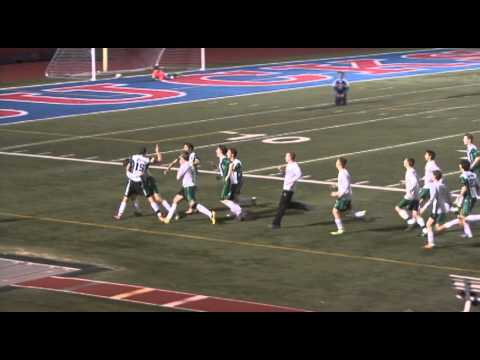 Holy Cross High School Crusaders soccer playoffs 2012