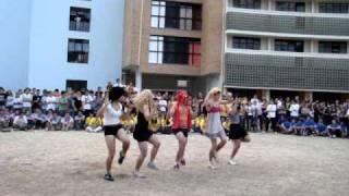 XI Trote Integrado do CTC na UFSC - Prova da dança - Engenharia de Materiais