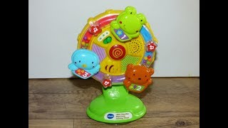 VTech Baby Lil' Critters Spin and Discover Ferris Wheel high chair toy