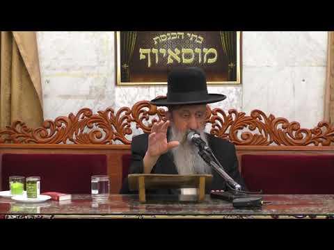 הרב בן ציון מוצפי דיני ומנהגי ליל הסדר