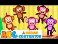 Cinco Monitos Y Más Canciones Divertidas Por 50 Minutos A Bebés Contentos mp3