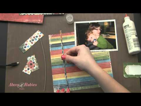 How to Scrapbook 8x8 Layouts