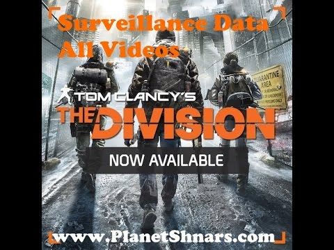 All Surveillance Data - Tech Wing - Full Video - Tom Clancy's The Division