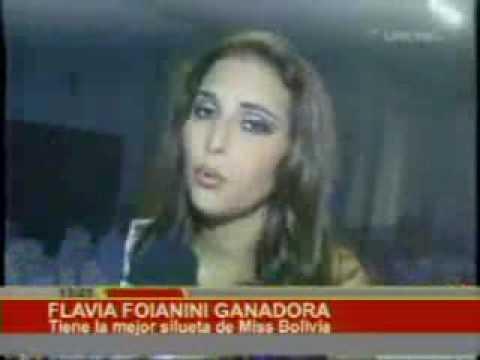 Flavia Foianini tiene la mejor silueta de Miss Bolivia | Bolivia-red.Com |