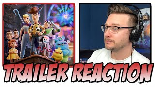 Toy Story 4   Official Trailer Reaction (From Pixar)
