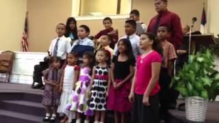 Faith Bible Baptist Church youth choir fort  Pierce Florida - Pastor Rick Palma