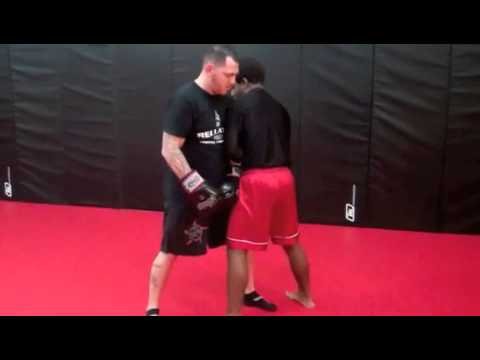 Kickboxing classes in Sussex County NJ(Clinch Fighting,Sweeps) Image 1