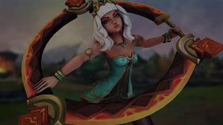 League of Legends - Qiyana Empress of the Elements Champion Trailer