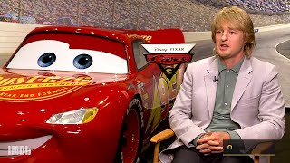 How Owen Wilson & The Cast of 'Cars 3' Characters Found Their Voices   IMDb EXCLUSIVE