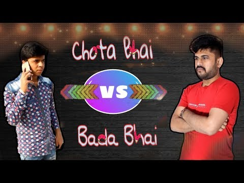 Chota Bhai VS Bada Bhai || Best Funny Video || AmAn Gaba