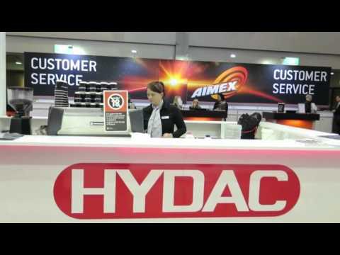 HYDAC at AIMEX Sydney -Sept 2015