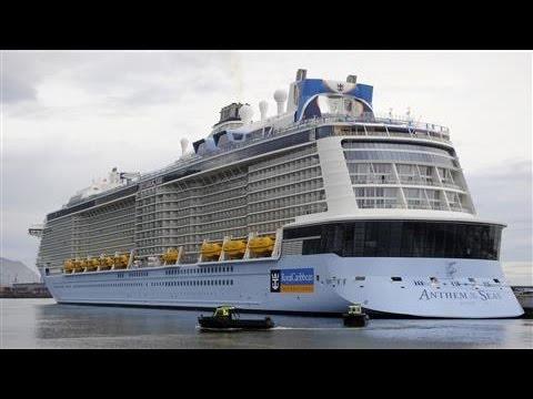 Royal Caribbean Cruise Ship Damaged by Rough Storm