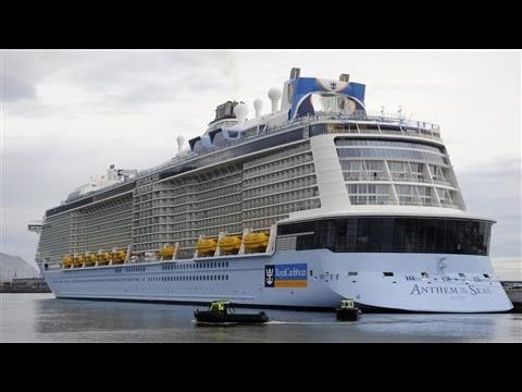 Royal Caribbean Cruise Ship Damaged by Rough Storm