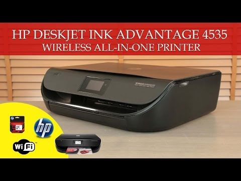 Hp Deskjet Ink Advantage 4535 Wireless All-In-One Printer (REVIEW)