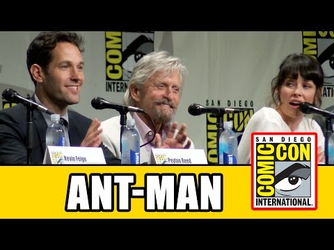 Marvel Ant-Man Official Comic Con Panel 2014