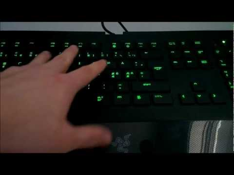 Razer Deathstalker Keyboard - Review and Unboxing
