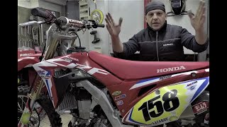 HONDA CRF450R Electric Start Installation By Livanas Motorsports