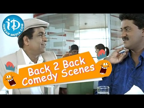 Brahmanandam, Sunil All Time Best Comedy Scenes video