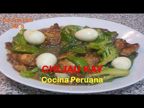 CHI JAU KAY - RECETAS - COCINA PERUANA