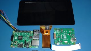 "New Raspberry Pi 7"" Touch Screen LCD - Assembly"