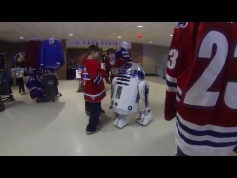 R2 Visits the UMass Lowell Riverhawks