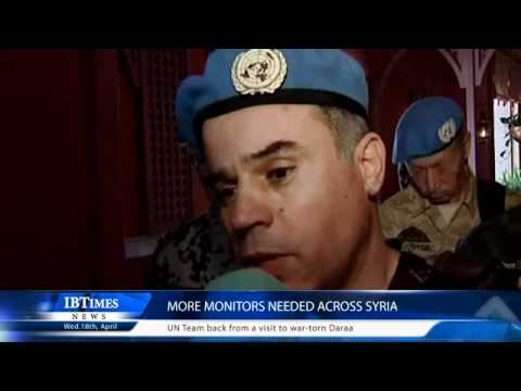 More monitors needed across Syria