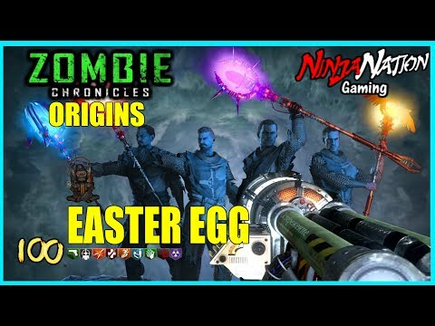 """""""ZOMBIE CHRONICLES"""" ALL ORIGINS EASTER EGGS + MAIN EE    CALL OF DUTY: BLACK OPS 3 ☯SUB 4 LUCK☯"""