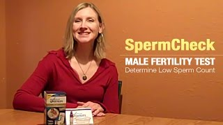 SpermCheck Male Fertility Test:  Determine Low Sperm Count