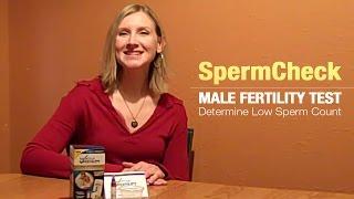 SpermCheck Male Fertility Test:  Determine Low Sperm Count